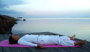 méditation allongée