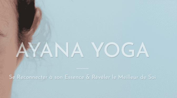 AYANA YOGA : cours à Valence, romans, tain